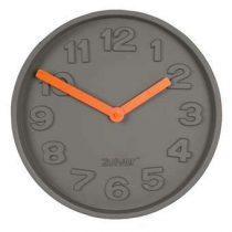 Zuiver Concrete Time Wandklok Ø 32 cm Klokken Grijs Aluminium
