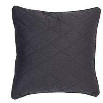 Zuiver Diamond Square Kussen 50 x 50 cm Woonaccessoires Grijs Polyester