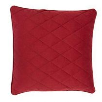 Zuiver Diamond Square Kussen 50 x 50 cm Woonaccessoires Rood Polyester