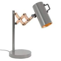 Zuiver Flex Tafellamp Verlichting Grijs Hout