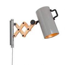 Zuiver Flex Wandlamp Verlichting Grijs Hout
