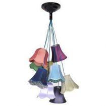 Zuiver Granny Hanglamp Verlichting Multicolor Textiel