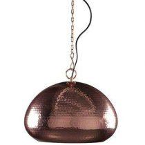 Zuiver Hammered Hanglamp ovaal Verlichting Koper Metaal