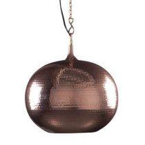 Zuiver Hammered Hanglamp rond Verlichting Koper Metaal