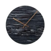 Zuiver Marble Time Wandklok Ø 25 cm Klokken Grijs Marmer