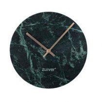Zuiver Marble Time Wandklok Ø 25 cm Klokken Groen Marmer