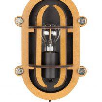 Zuiver Navigator wandlamp ZwartSlaapkamer