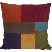 Zuiver Ridge Rib Kussen 50 x 50 cm Woonaccessoires Multicolor Nylon