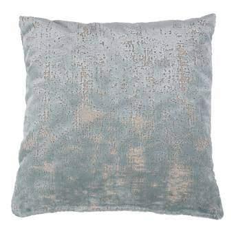 Zuiver Sarona Vintage Blue Sierkussen 45 x 45 cm Woonaccessoires Blauw Textiel