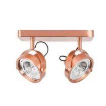 Zuiver Spotlight Dice LED Plafondspot Dubbel Verlichting Koper Staal