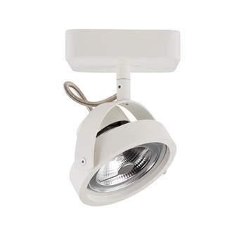 Zuiver Spotlight Dice LED Plafondspot Enkel Verlichting Wit Staal