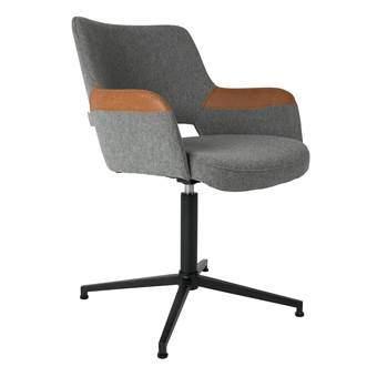 Zuiver Syl Stoel Bureaus & bureaustoelen Bruin