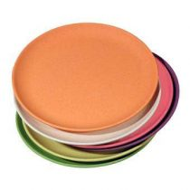 Zuperzozial Take The Cake Gebaksbord Ø 18 cm/Set van 6 Servies Multicolor Bamboe
