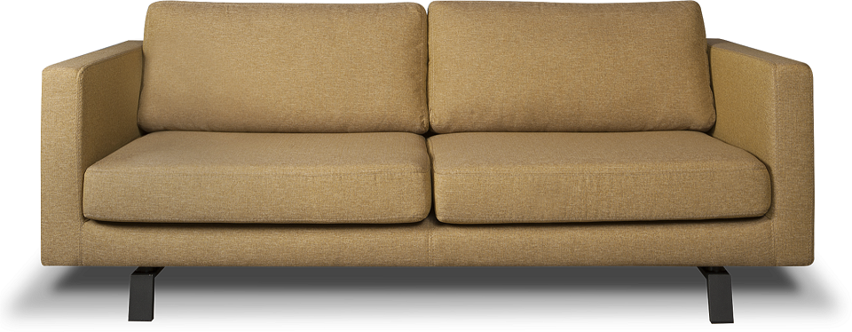i Sofa Casper 3 zits bank Oker geelWoonkamer