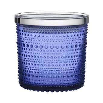 iittala Kastehelmi Voorraadpot Organizen & bewaren Blauw Glas