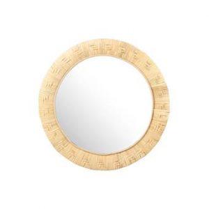 &k amsterdam Bamboo Weave Spiegel Ø 27