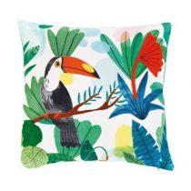 &k amsterdam Bodil Sierkussen 40 x 40 cm Woonaccessoires Multicolor Textiel