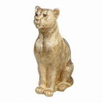 &k amsterdam Coinbank Leopard Spaarpot Woonaccessoires Goud Polyresin