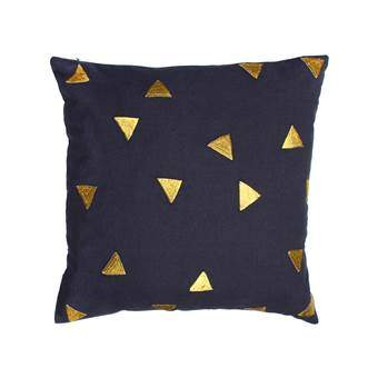 &k amsterdam Triangle Sierkussen 40 x 40 cm Woonaccessoires Multicolor Katoen