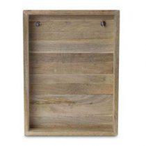 vtwonen Houten Decoratie Frame  Wanddecoratie & -planken Bruin Hout